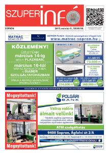 Soproni Szuperinfó - 2019.03.09.