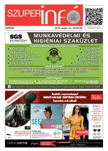 Soproni Szuperinfó - 2019.05.18.