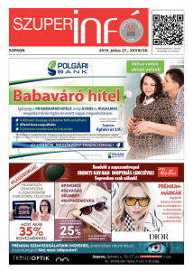 Soproni Szuperinfó - 2019.07.27.