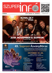 Soproni Szuperinfó - 2019.10.19.