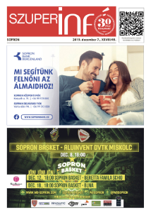 Soproni Szuperinfó - 2019.12.07.