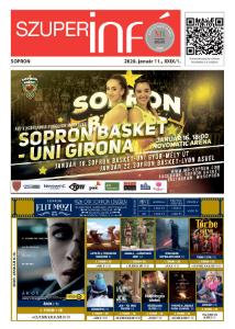 Soproni Szuperinfó - 2020.01.11.